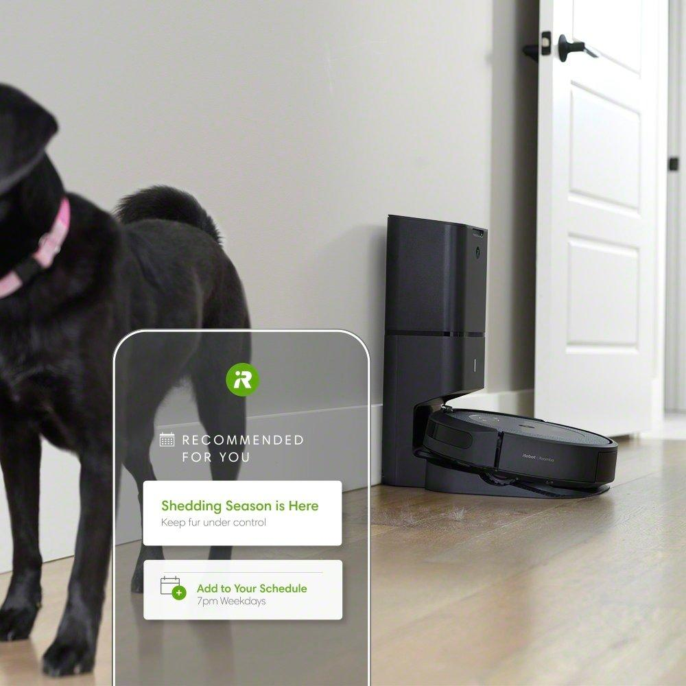 כלב ורובט I3+ ומסך אפליקציה